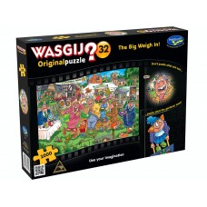 1000 pc Wasgij Puzzle Original #32 The Big Weigh In