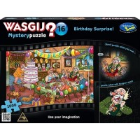 1000 pc Wasgij Puzzle Mystery #16 Birthday Surprise