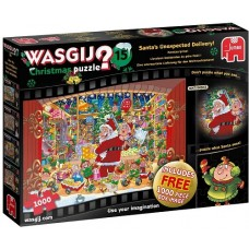 1000 pc Wasgij Puzzle Christmas #15 Santa's Unexpected Delivery - Christmas 2020