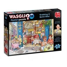 1000 pc Wasgij Puzzle Mystery #18 Grabbing a Quick Bite