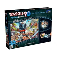 500 pc Wasgij Puzzle Retro Mystery #1 - Wasgij Express XL pieces