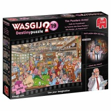 1000 pc Wasgij Puzzle Destiny #19 The Puzzlers Arms