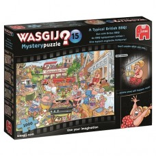 1000 pc Wasgij Puzzle Mystery #15 A Typical British BBQ