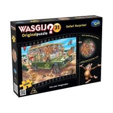 1000 pc Wasgij Puzzle Original #31 Safari Surprise
