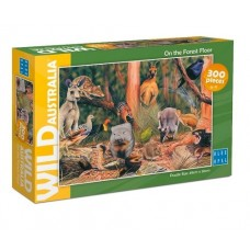 200 pc Blue Opal Puzzle - Wild Australia - On the Forest Floor