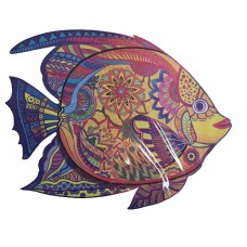 149 pc Wooden Puzzle - Fish