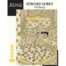 1000 pc Pomegranate Puzzle - Edward Gorey: Cat Fancy