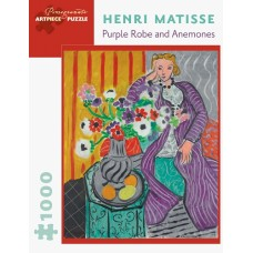 1000 pc Pomegranate Puzzle - Matisse: Purple Robe and Anemones