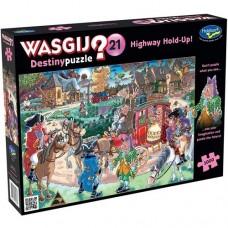 1000 pc Wasgij Puzzle Destiny #21 Highway Holdup