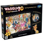 1000 pc Wasgij Puzzle Original #29 Catching Wedding Fever