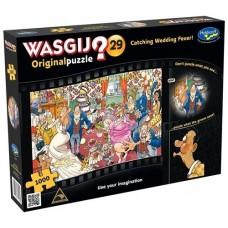 1000 pc Wasgij Puzzle Original #29 Catching Wedding Fever