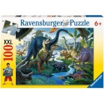100 pc Ravensburger - Land of the Giants Puzzle XXL Pieces