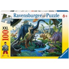 100 pc Ravensburger Puzzle - Land of the Giants XXL Pieces