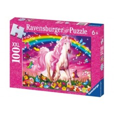 100 pc Ravensburger - Glitter Horse Dream Puzzle XXL Pieces
