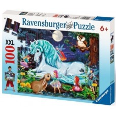 100 pc Ravensburger - Unicorns World Puzzle XXL Pieces