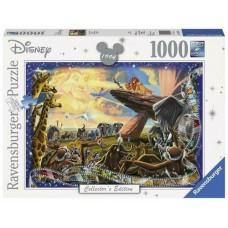 1000 pc Ravensburger Puzzle - DisneyMemories The Lion King