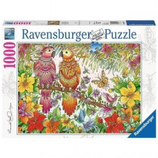 1000 pc Ravensburger Puzzle - Tropical Feeling