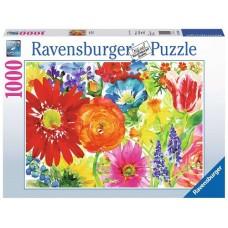 1000 pc Ravensburger Puzzle - Abundant Blooms