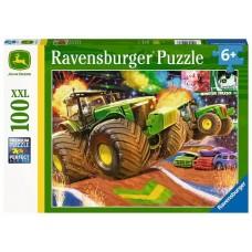 100 pc Ravensburger Puzzle - John Deere Big Wheels  XXL Pieces COMING SOON