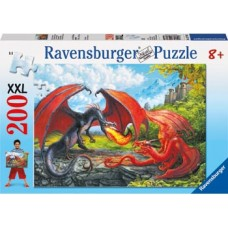 200 pc Ravensburger - Flight of the Dragon Puzzle XXL