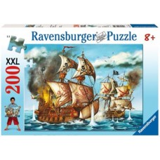 200 pc Ravensburger - Pirate Battle Puzzle XXL