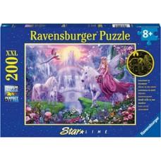 200 pc Ravensburger Puzzle - GID Unicorn Kingdom  XXL Pieces