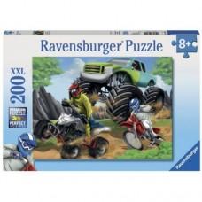 200 pc Ravensburger - Power Vehicles Puzzle XXL