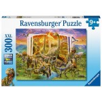 300 pc Ravensburger Puzzle - Dinosaur Dictionary - XXL Pieces