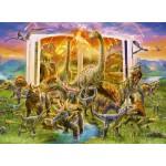 300 pc Ravensburger Puzzle - Dinosaur Dictionary - XXL Pieces