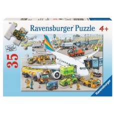 35 pce Ravensburger - Busy Airport Puzzle