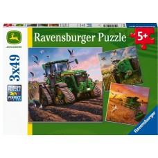 49 pc Ravensburger Puzzle - Seasons of John Deere Puzzle 3x49 pc COMING SOON