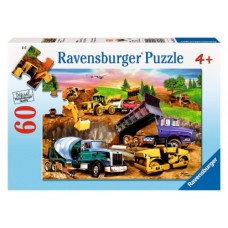 60 pc Ravensburger - Construction Crowd Puzzle