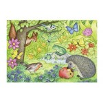 12 pc Ravensburger - Animals in the Garden Puzzle  2x12 pc