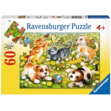 60 pc Ravensburger - Cats & Dogs Puzzle