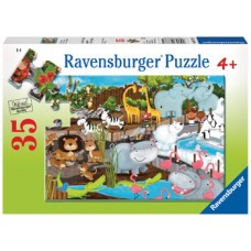 35 pce Ravensburger - Day at the Zoo