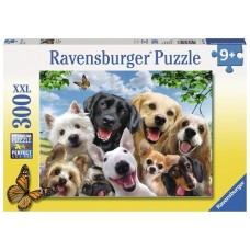 300 pc Ravensburger Puzzle - Delighted Dogs - XXL Pieces