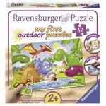 12 pc Ravensburger Puzzle Plastic - Dinosaur Friends