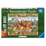 100 pc Ravensburger Puzzle - Dinosaurs XXL Pieces