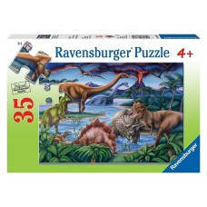 35 pce Ravensburger - Dinosaur Playground Puzzle