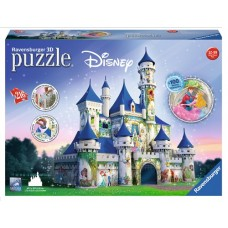 216pc  Ravensburger 3D Puzzle  - Disney Castle   NEW in 2017