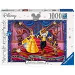 1000 pc Ravensburger Puzzle - Disney Memories Beauty & the Beast 1991