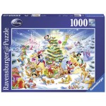 1000 pc Ravensburger Puzzle - Disney Christmas Eve LAST ONE