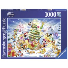 1000 pc Ravensburger Puzzle - Disney Christmas Eve