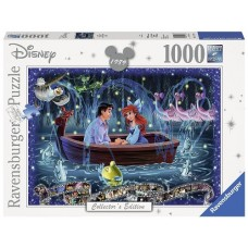 1000 pc Ravensburger Puzzle - Disney Memories Little Mermaid 1989