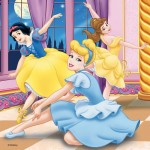 49 pc Ravensburger - Disney Princesses Puzzle 3x49pce