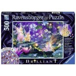 500 pc Ravensburger  - Fairy with Butterfly Jewel Puzzle