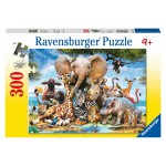 300 pc Ravensburger Puzzle - Favourite Wild Animals - XXL Pieces