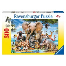 300 pc Ravensburger - Favourite Wild Animals Puzzle - XXL Pieces