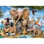300 pc Ravensburger - Favourite Wild Animals Puzzle - XXL Pieces