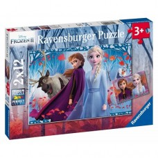 12 pc Ravensburger - Frozen 2 Journey of the Unknown 2x12 pc
